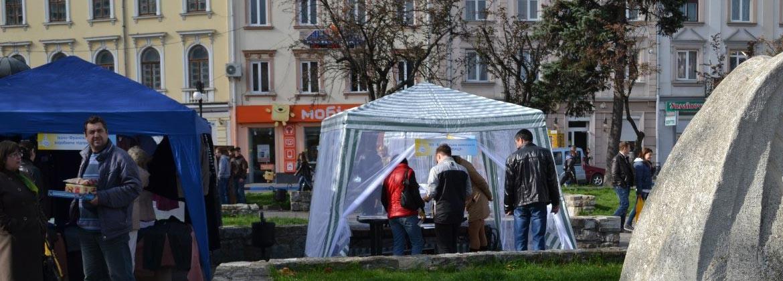 З нагоди відзначення Дня міста - акція «Купуємо Івано-Франківське – даємо роботу іванофранківцям» у супермаркеті